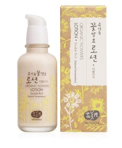 Organic flowers lotion double rich (piel normal y seca) 120ml Whamisa