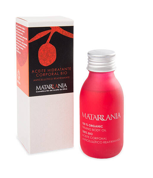 Aceite anticelulítico y reafirmante bio 100ml Matarrania