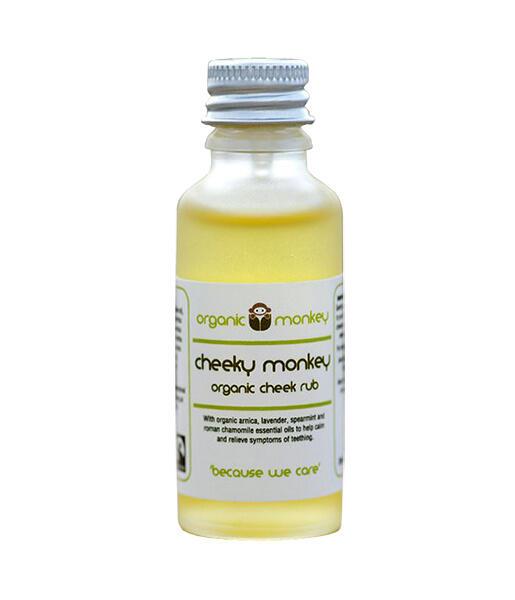 Aceite calmante primeros dientes 30ml Organic Monkey