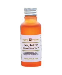 Aceite de masaje para barriguita 30ml Organic Monkey