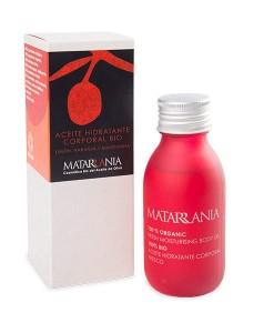 Aceite hidratante corporal de limón, naranja y mandarina bio 100ml Matarrania