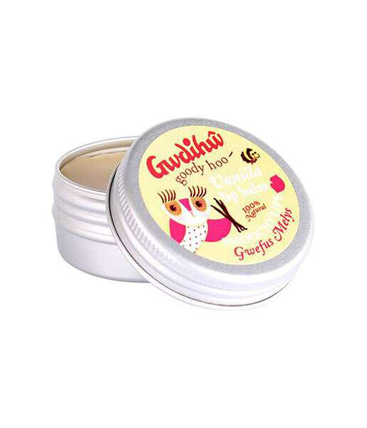 Bálsamo de labios de vainilla 15g Gwdihw