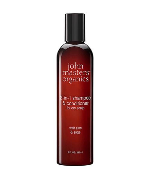 Champú de salvia y zinc con acondicionador 236ml John Masters Organics