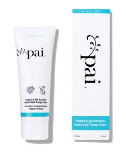 Crema de manos tratante de fragonia y espino amarillo 75ml Pai Skincare