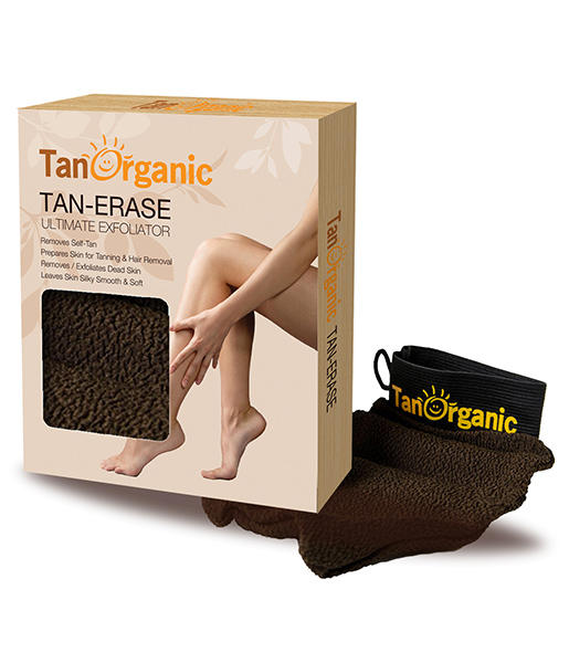 Guante exfoliante Tan Organic