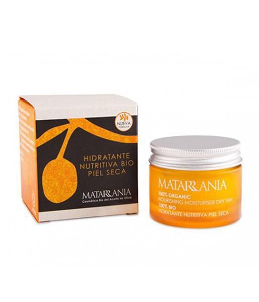 Hidratante nutritiva piel seca bio 30ml Matarrania
