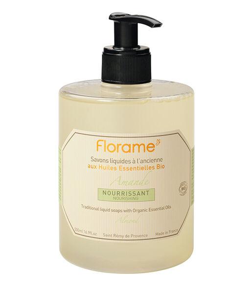Jabón líquido de manos de almendras 500ml Florame
