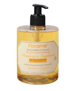 Jabón líquido de manos de mandarina y pomelo 500ml Florame