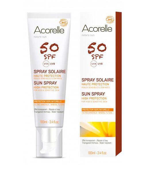 Spray cara y cuerpo spf50 100ml Acorelle