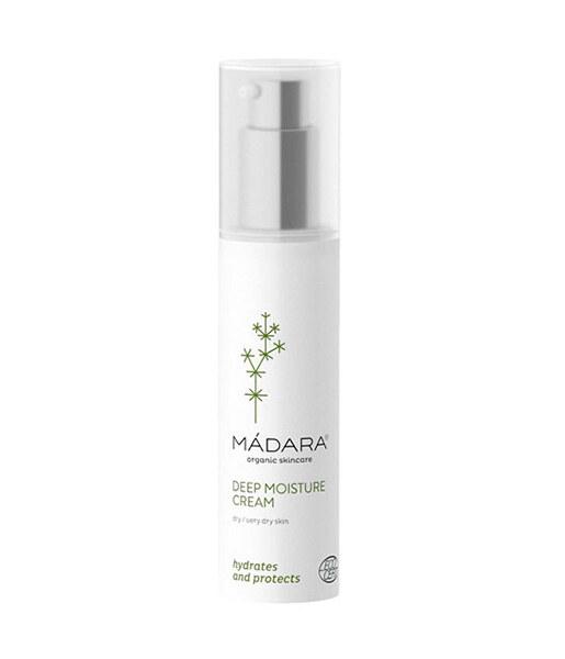 Crema hidratante para piel seca (Deep moisture cream) 50ml Mádara