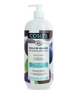 Gel de ducha de higo para pieles sensibles 1l Coslys