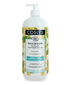 Gel de ducha de madreselva para pieles secas 1l Coslys