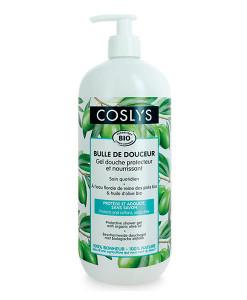 Gel de ducha protector de aceite de oliva 1l Coslys