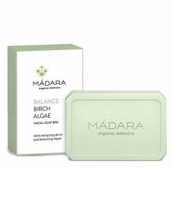 Jabón facial equilibrante de abedul y algas 70g Madara