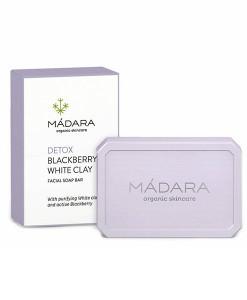 Jabón facial purificante de moras y arcilla blanca 70g