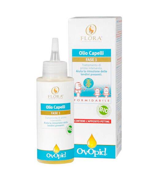 Ovopid antipiojos fase 1 aceite con liendrera 100ml Flora