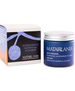 Hidratante nutritiva para hombre bio 60ml Matarrania