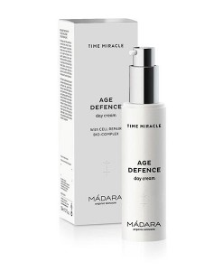 "Crema de día ""age defence"" time miracle 50ml Mádara"