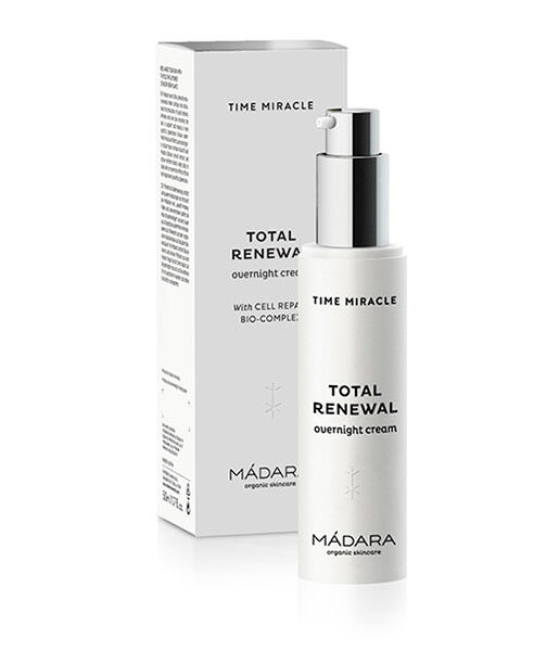"Crema de noche ""total renewal"" time miracle 50ml Mádara"