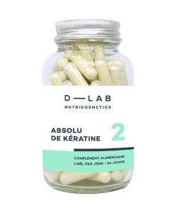 Inyección de queratina 84 cápsulas (tratamiento anual) D+Lab