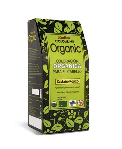 Tinte capilar orgánico castaño rojizo 100g Radico