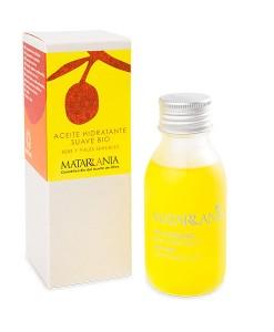 Aceite hidratante suave para piel sensible y bebé bio 100ml Matarrania
