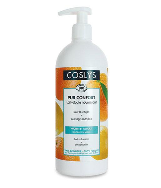 Leche corporal hidratante de cítricos 500ml Coslys