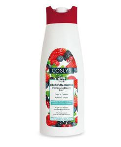 Champú y gel de ducha de frutos rojos 750ml Coslys