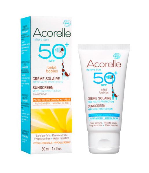 Crema-solar-para-bebé-spf-50-50ml-Acorelle