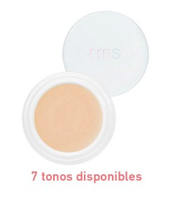 """Un"" cover-up (base + corrector) 5,67g 7 tonos RMS Beauty"