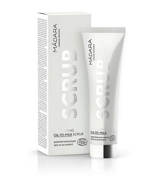 Exfoliante facial oil to milk 60ml Mádara