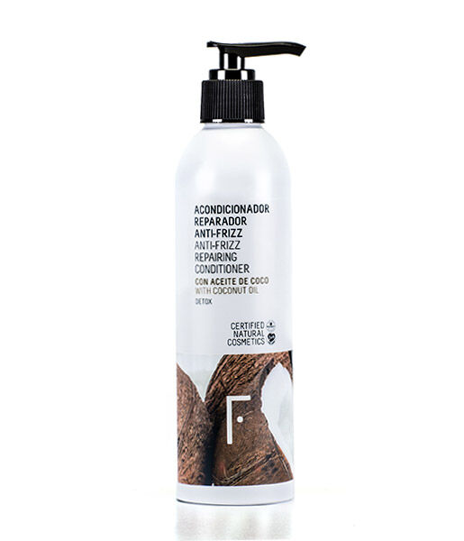 Acondiciador reparador anti-frizz 250ml Freshly Cosmetics