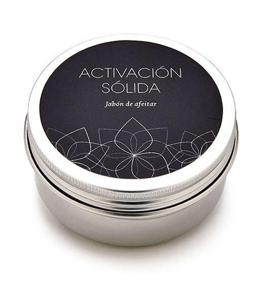 Jabón de afeitar activación sólida 80ml Terai