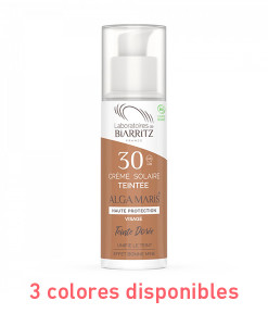 Crema facial con color spf 30 50ml 3 Tonos Alga Maris