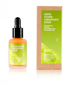 Serum facial green vitamin concentrate 30ml Freshly
