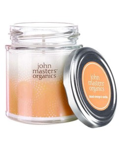 Vela de soja de naranja sanguina y vainilla 190ml John Masters Organics