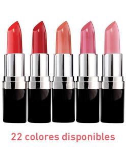 Barra de labios floral 4g 22 colores Zuii Organic