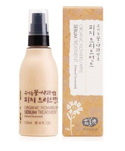 Organic flowers apple sebum treatment 120ml Whamisa