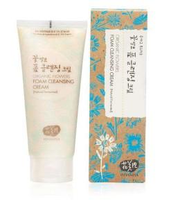 Organic flowers creamy foam cleanser (crema limpadora espumosa) 200g Whamisa