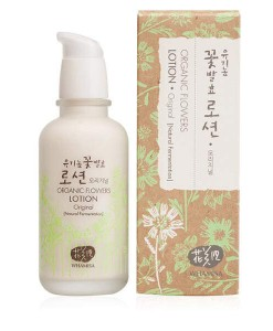 Organic flowers lotion original (piel grasa y mixta) 120ml Whamisa