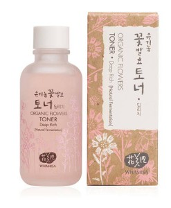Organic flowers toner deep rich  120ml Whamisa