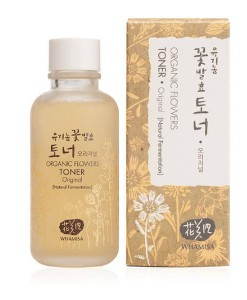 Organic flowers toner original 120ml Whamisa