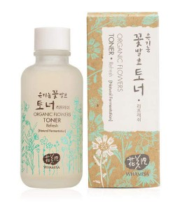 Organic flowers toner refresh 120ml Whamisa