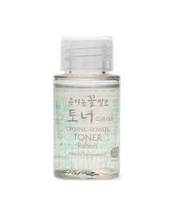 Organic flowers toner refresh mini 20ml Whamisa