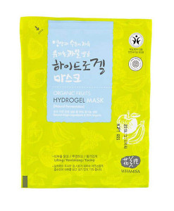 Organic fruits & tomato hydrogel sheet mask (mascarilla tonificante) Whamisa