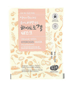 Organic seeds & rice hydrogel sheet mask (mascarilla antiedad) Whamisa