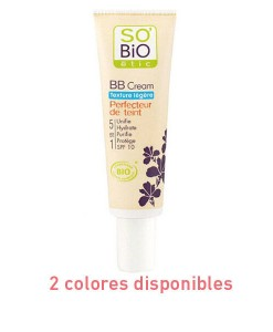 BB cream textura ligera 30ml 2 colores So Bio Etic