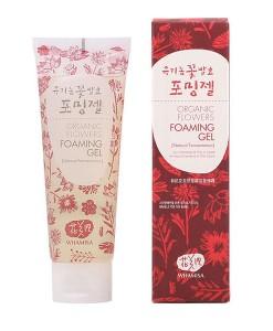 Organic flowers foaming gel (gel-limpiador) 133g Whamisa