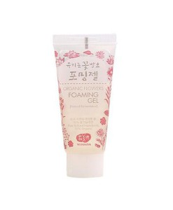 Organic flowers foaming gel (gel limpiador) mini 20ml Whamisa