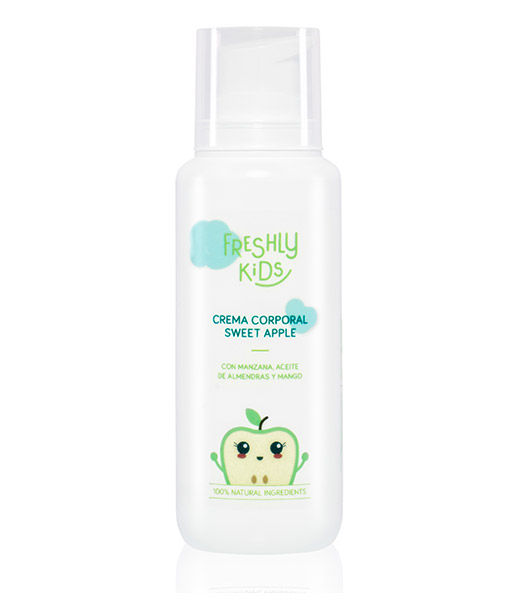 Crema corporal sweet apple 200ml Freshly Kids